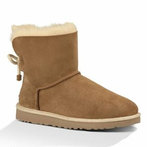 UGG Womens Selene Sheepskin Chestnut NEW IN BOX